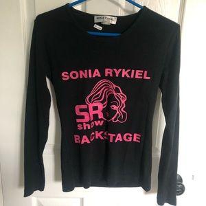 SONIA RYKIEL Backstage Long Sleeve Tee